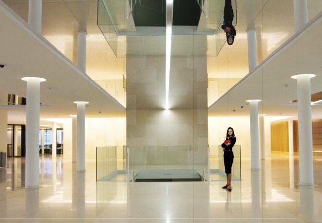 Зеркальный потолок - Вертикаль Групп