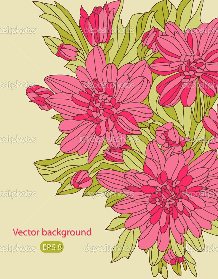 Скачать - Идеальный цветочные карты векторные eps 8 — стоковая иллюстрация #12087961