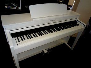 CLP 440wh , this beautiful snow white digital piano is very rare and it's NEW!  All the features professional players and teachers desire.  Full 88 weighted keys, tone comparable to a full size acoustic grand piano, too many features to mention here.  Come in, try it out for yourself!