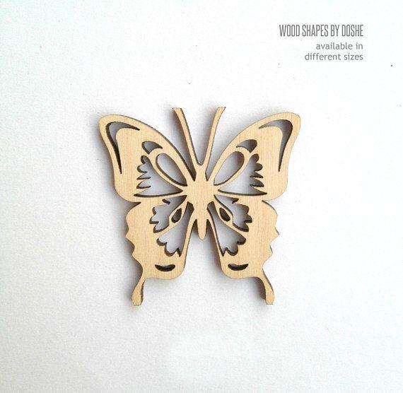 5 butterflies.laser cut wooden blanks Mdf Craft Shape Plaque