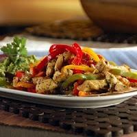 Fajitas de Cerdo - Mexican Typical Food y Recipe