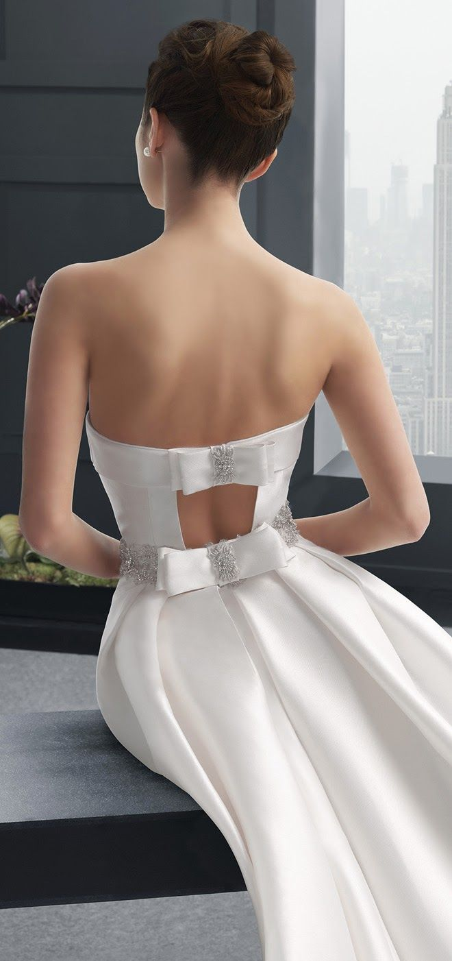 Bows ~ Two by Rosa Clara 2015 Bridal Collection | bellethemagazine.com