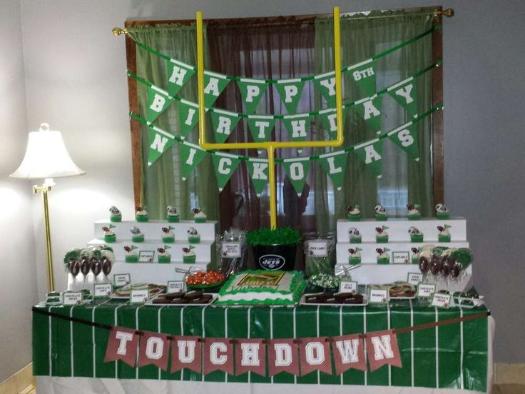 Football Birthday Party Ideas | Photo 6 of 7 | Catch My Party