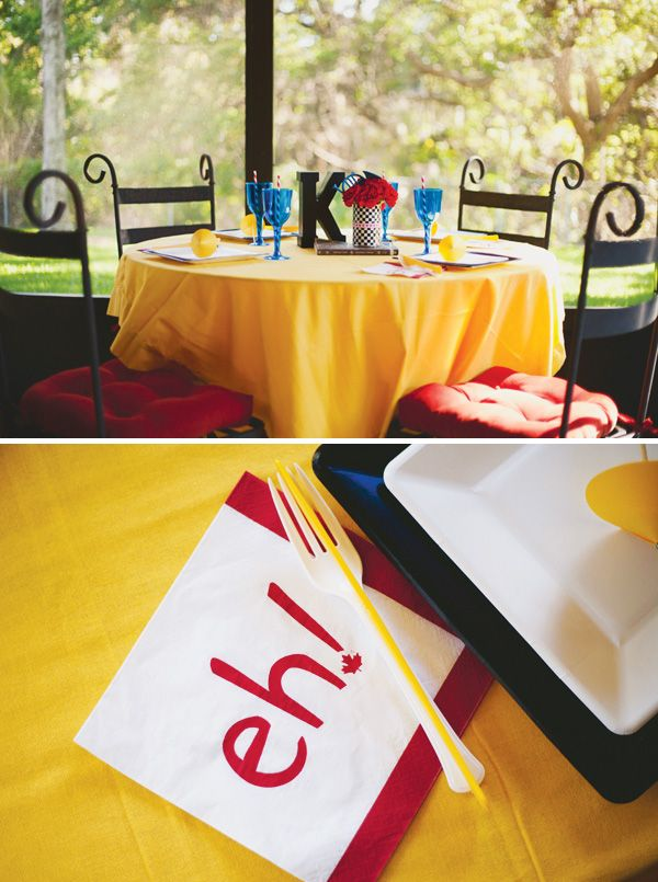 Not only is this theme super fun, but the bright primary colors are so well displayed.  How I Met Your Mother Party {Adult Birthday}