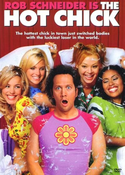 The Hot Chick (2002). [PG-13] 104 mins. Starring: Rob Schneider, Rachael McAdams, Anna Faris, Matthew Lawrence, Eric Christian Olsen, Robert Davi, Leila Kenzle, Melora Hardin, Michael O'Keefe, Tia Mowry and Tamera Mowry