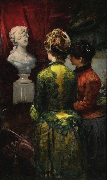 Leon Wyczółkowski      In the boudoir