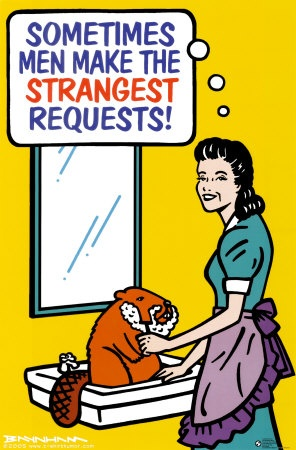 Now, that's silly.: Funny Pics, Funny Shit, Funny Pictures, Comic Books, Strangest Request, Funny Bones, Funny Stuff, Beavers Shaving, Funny Photo