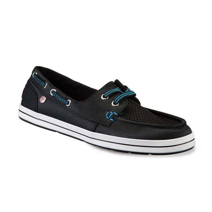 Skechers BOBS Flexy High Tide Women's Boat Shoes, Size: 6, Grey (Charcoal)