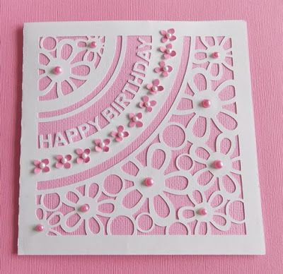 Daily Grace Creations: My First Silhouette Cameo Card