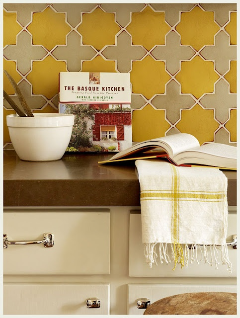 Interior Design, Back Splashes, Kitchens Design, Backsplash Ideas, Mediterranean Kitchen, Kitchens Tile, Interiors Design, Kitchens Backsplash, Moroccan Tile