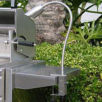 Elegant Clamp On Halogen MR16 Plug In Bullet Shaped Barbecue Grill Light