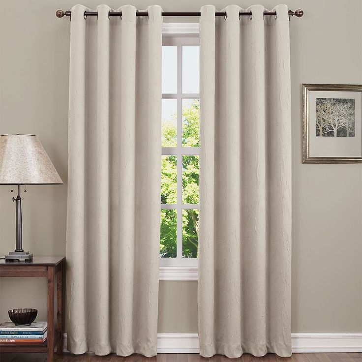 Sun Zero Hanson Room Darkening Curtain,