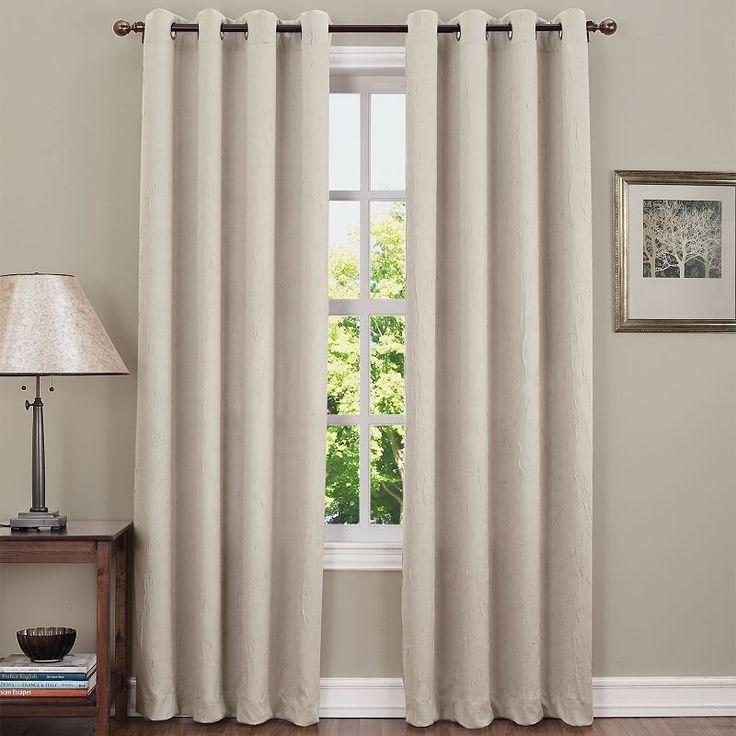 Sun Zero Hanson Room Darkening Curtain,