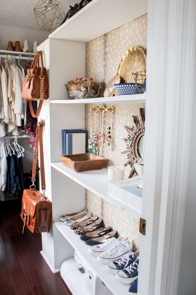25 Best Ideas About Closet Wallpaper On Pinterest Small