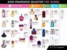 Avon perfume selector www.avon.uk.com/store/dundee-stephen #perfume #avon #cosmetics #fragrance