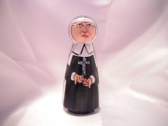 Saint Katharine Drexel  Catholic Saint Doll  made by StLukesBrush