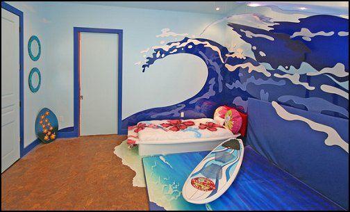 Decorating theme bedrooms - Maries Manor: beach theme bedrooms - surfer girls - surfer boys  #SurfsUp  #whereisyoungamerica