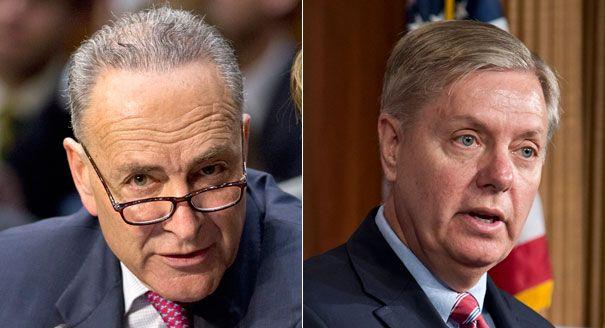 Democrat Charles Schumer Joins Linsey Graham and Benjamin Netanyahu's Lust For War