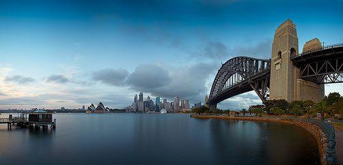 Sydney from Jeffery St. Wharf