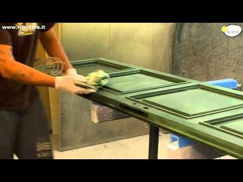 Pitturare la porta dell'ingresso - Bricoportale - YouTube