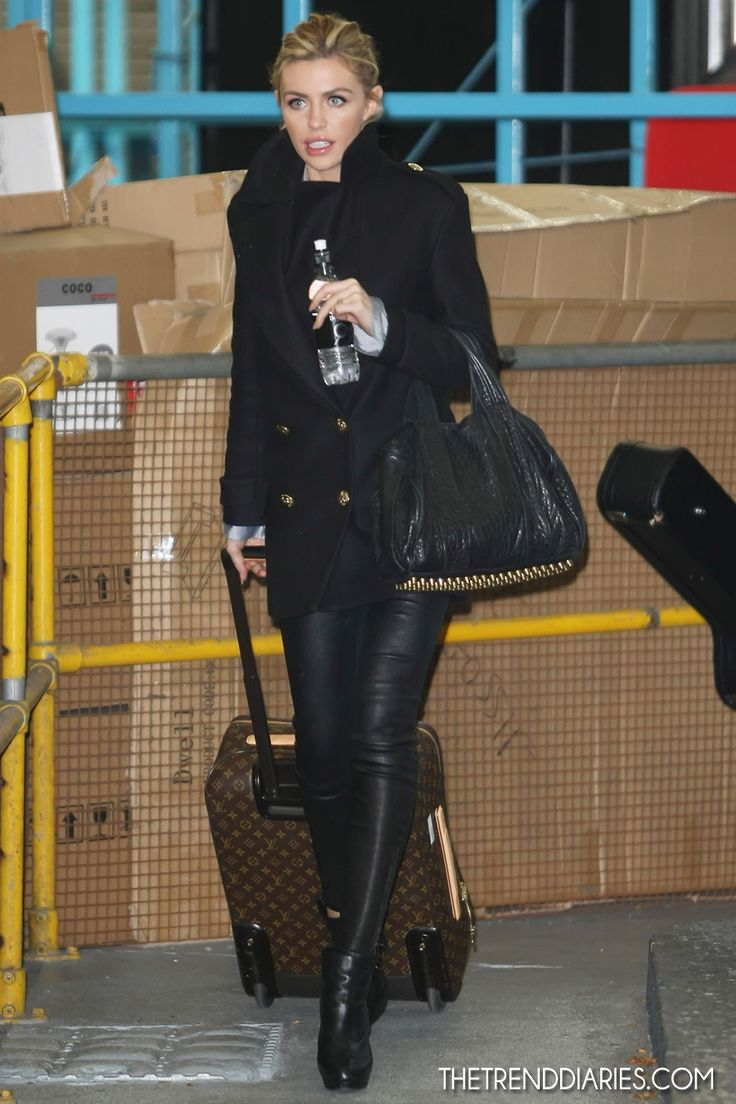 Abbey Clancy at ITV Studios in London, England - November 2, 2012 | The Trend Diaries - The Latest Celebrity Style, Fashion, and Beauty Trends