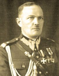 General Mieczyslaw Smorawinski. born Kalisz, on Christmas Day, 1893. General of Brigade, Polish Army. In service in the course of the German/Soviet campaigns in Poland, 1939. Died on or shortly after 7 April, 1940, at Katyn Wood.