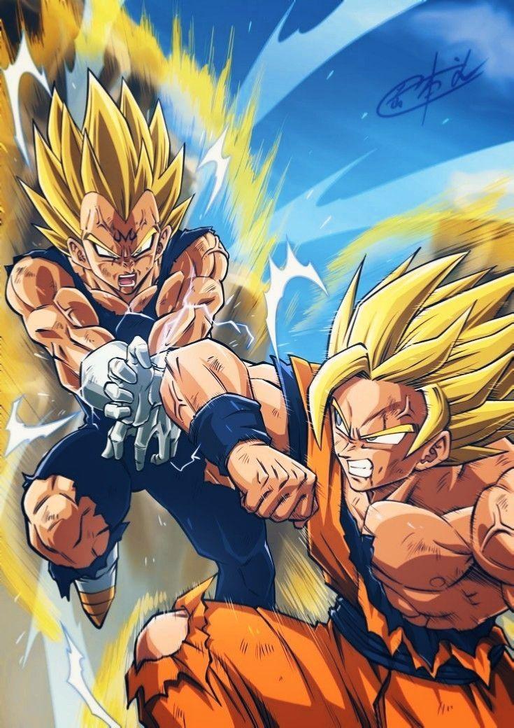 Goku Vs Vegeta Anime Dragon Ball Super Dragon Ball Super Artwork Dragon Ball Tattoo