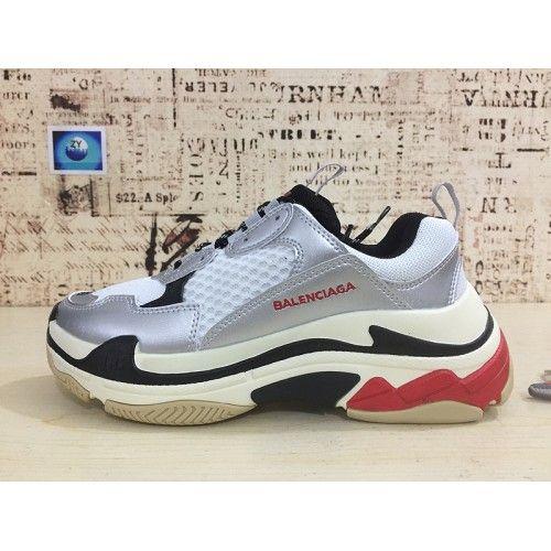 Balenciaga Triple S Sneaker - Tenisice Kupiti Balenciaga Triple S Sneaker  Srebro Crvena Online dfb4cc86f84