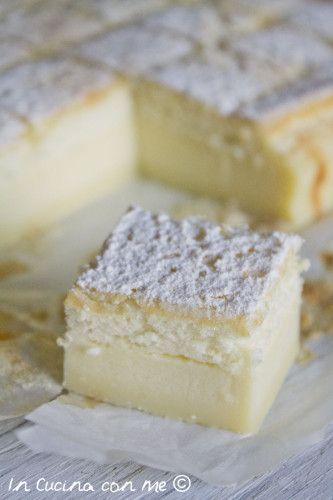 Magic custard cake... - In Cucina con Me
