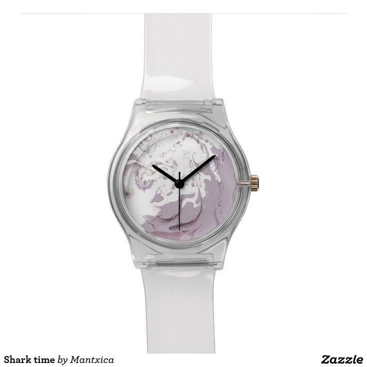 Shark time relógios de pulso