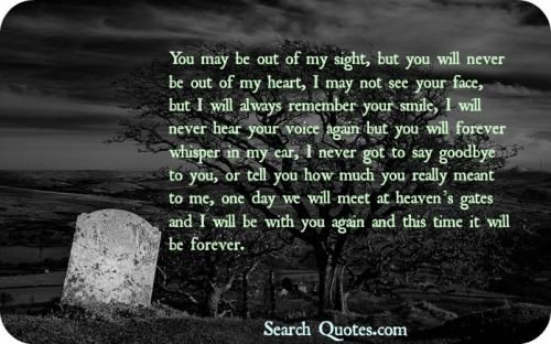 christian quotes on grieving the loss of a loved one