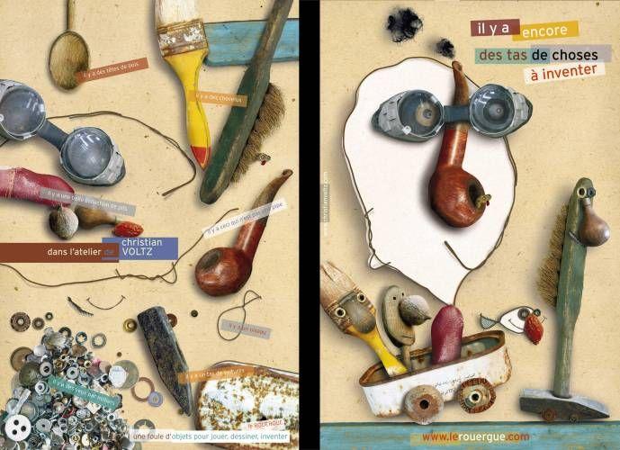 Affiche promotionnelle pour les editions du rouergue -