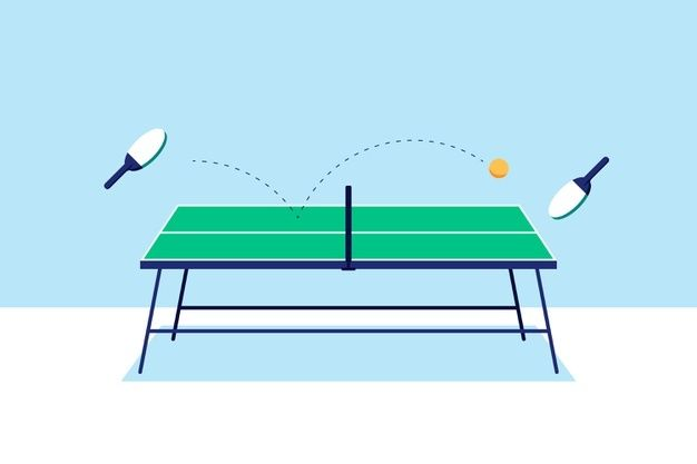 Table Tennis Concept Illustrated Free Vector Freepik Freevector Sport Table Sports Game In 2020 Table Tennis Vector Free Logo Collection