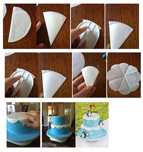 189 best fondant techniques images on pinterest cake for How to decorate a cake for beginners