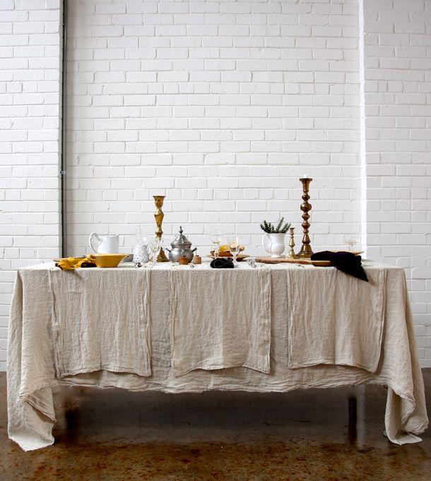 Hale Mercantile Co. - European Linen // Australia // available online // as featured on Studio Home