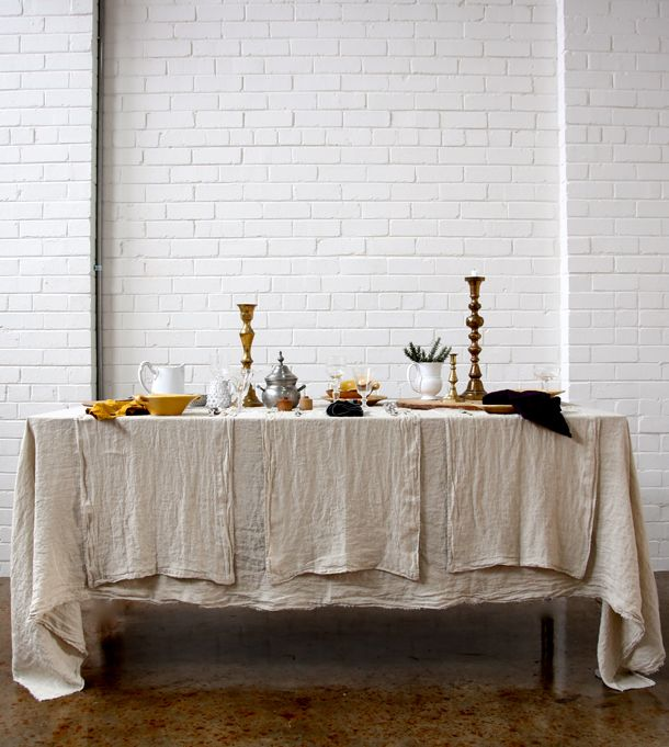 Hale Mercantile Co. - European Linen // Australia // available online // as featured on Studio Home