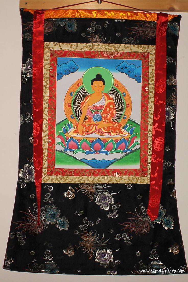 Shakyamuni Buddha thangka