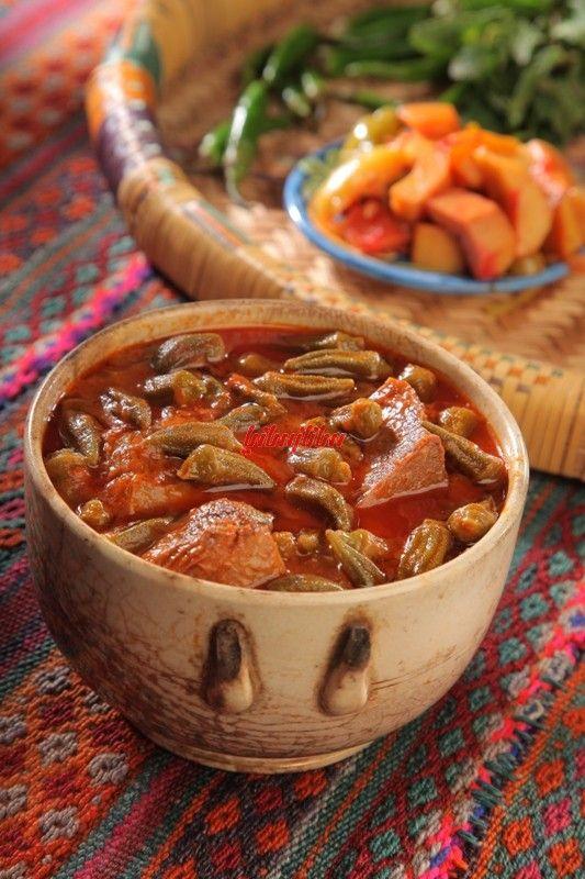 خورش بامیه (ترکیه) - آشپزی و شیرینی پزی سانازسانیا
