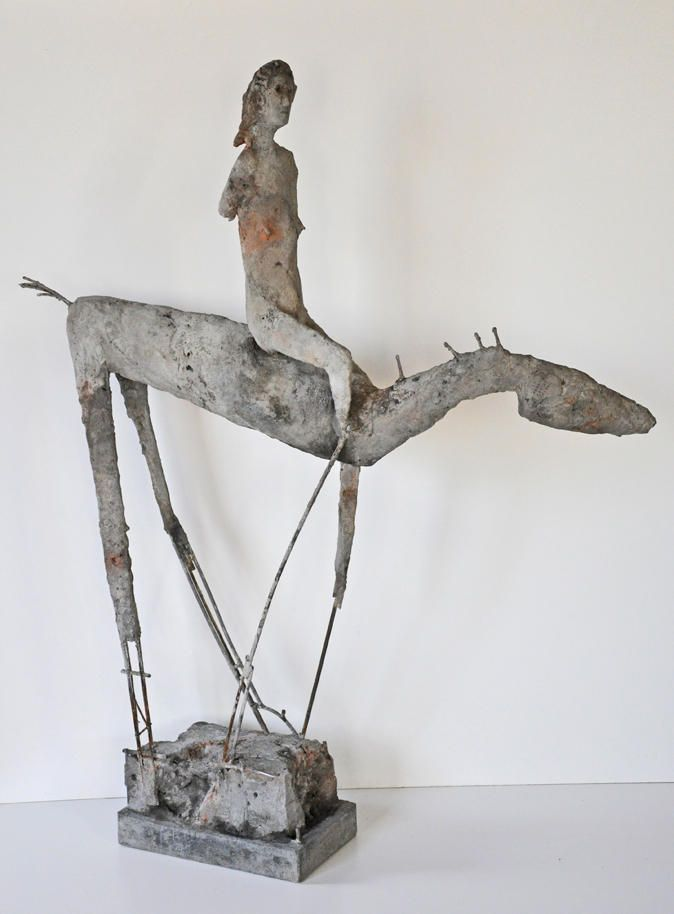 Mike Moran, concrete sculptures