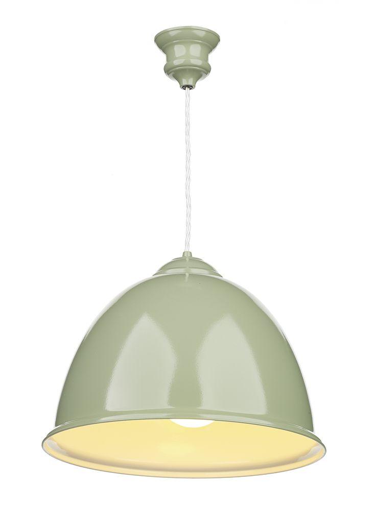 Euston Olive Green Pendant