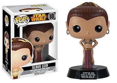 Funko Pop! Star Wars Princess Leia Slave Vinyl Figure – Realm of Beauty