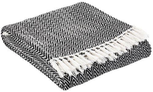 Pléd LINBENDEL 130×170 černobílá | JYSK