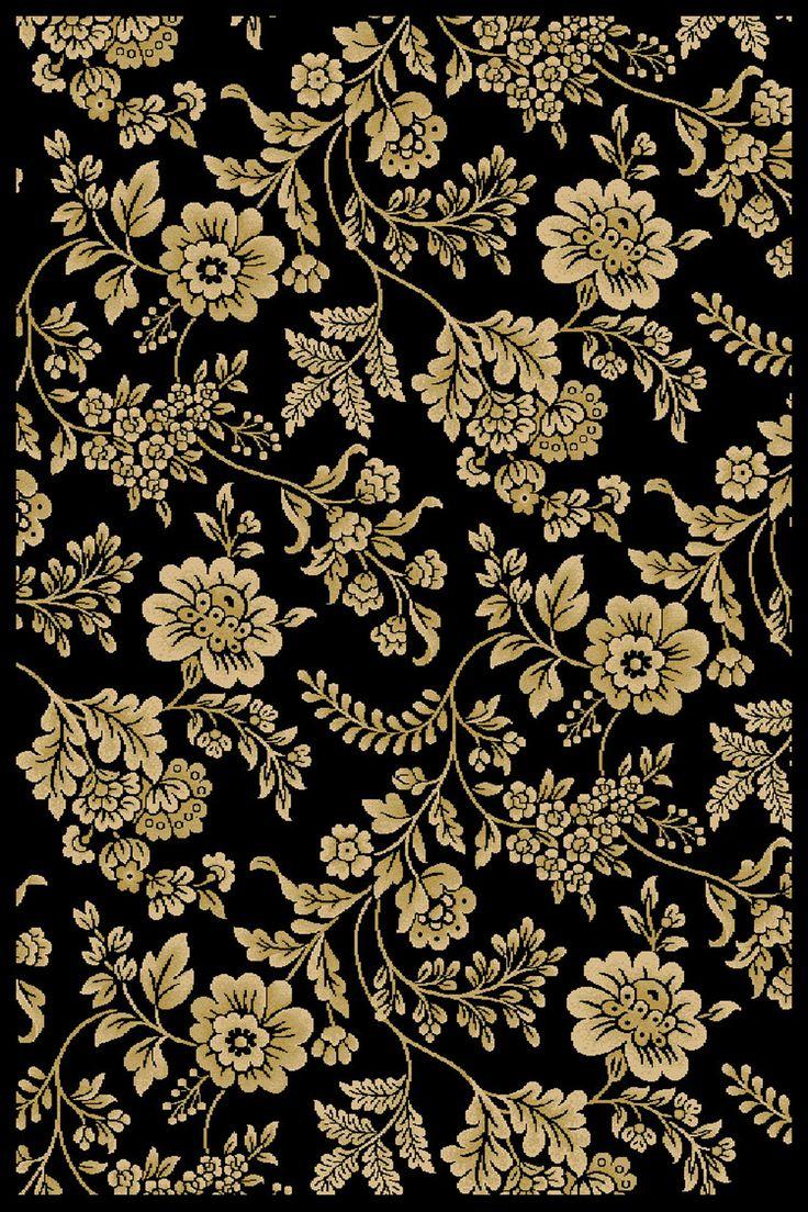 Interlude Portico 030 8806BK Juniper Black/Ivory Rug