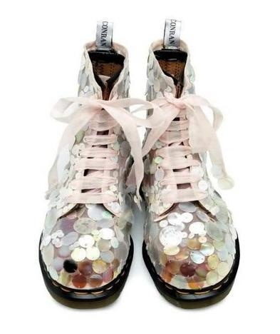 Sequined Boots by Vionnet