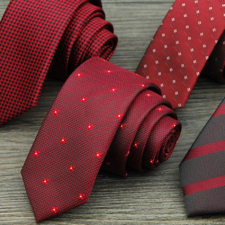 Мужская Свадьба Жених Свадебные Галстуки Красный Полиэстер Шелковый Полосатый Шеи Галстуки Для Мужчин Деловых Водонепроницаемый Галстуки #jewelry, #women, #men, #hats, #watches, #belts