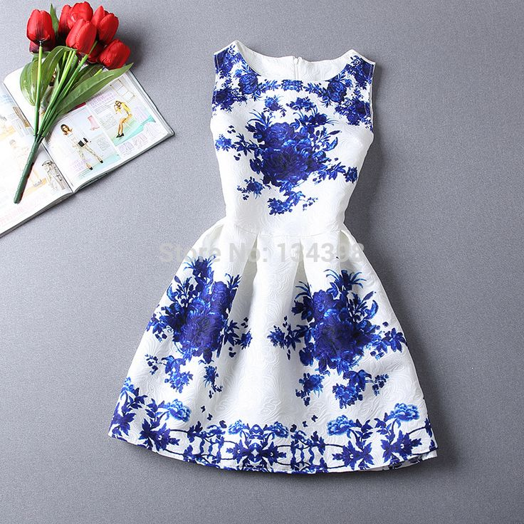 2015 New Casual Jacquard Mini Dress Fashion Cozy Cloth Summer Brand Elegant Women Dress Flower Print Porcelain Embossing Dresses