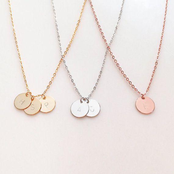 Halskette  Die besten 25+ Buchstaben halskette Ideen nur auf Pinterest ...