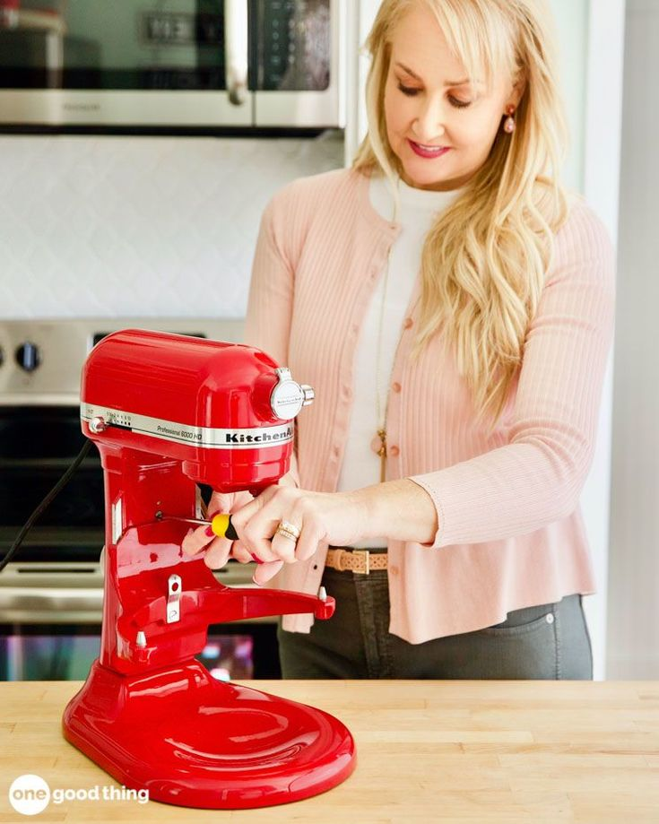 How to adjust the beater height on your kitchenaid stand