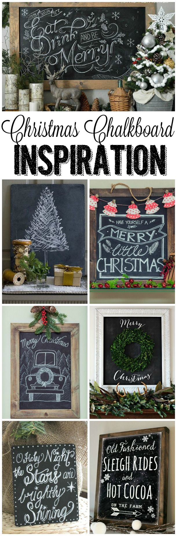 beautiful Christmas decor | decor ideas for Christmas | Christmas decor ideas | Christmas Season | farmhouse christmas | beautiful Christmas chalkboards