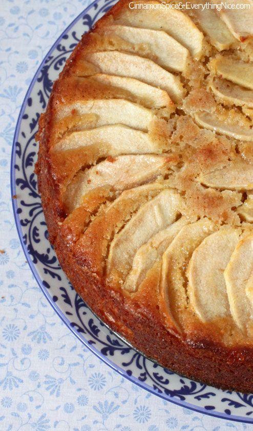 Italian Apple Cake - so moist and full of flavor!